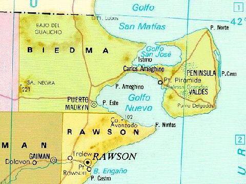 Mapa Peninsula Valdes Chubut Patagonia Argentina Flickr