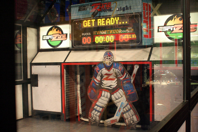 Espn Zone Nhl2night Goalie This Is The Only Reason We Come Flickr