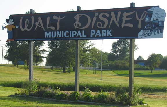 Walt Disney Municipal Park  Marceline, MO