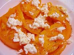 Yellow Brandywines & Fresh Ricotta | by Culinary Fool