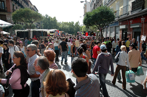 Flea Market Crowd