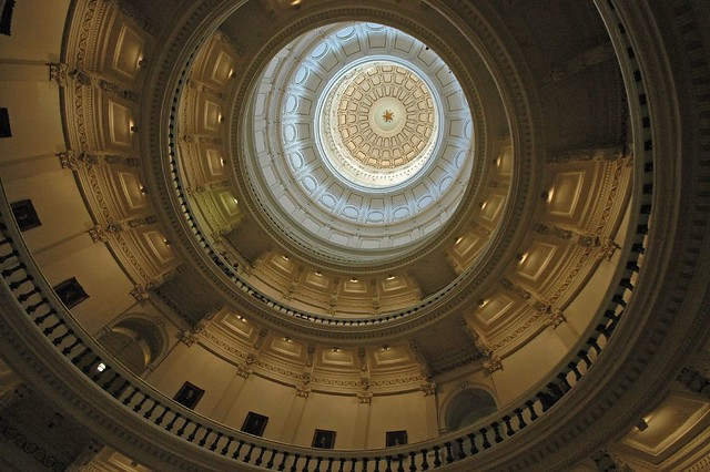 Texas State Capitol Dome Interior
