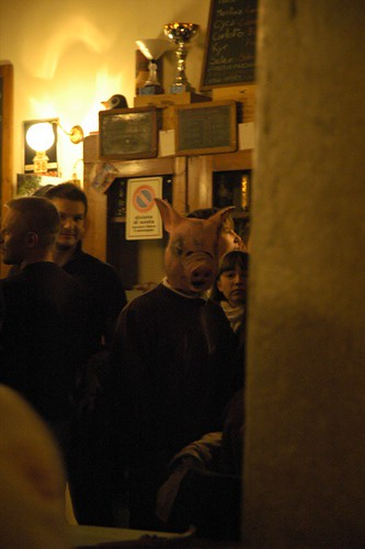 Pig in the pub | by Luigi De Frenza