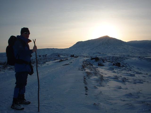 Loch Ossian, February 2003