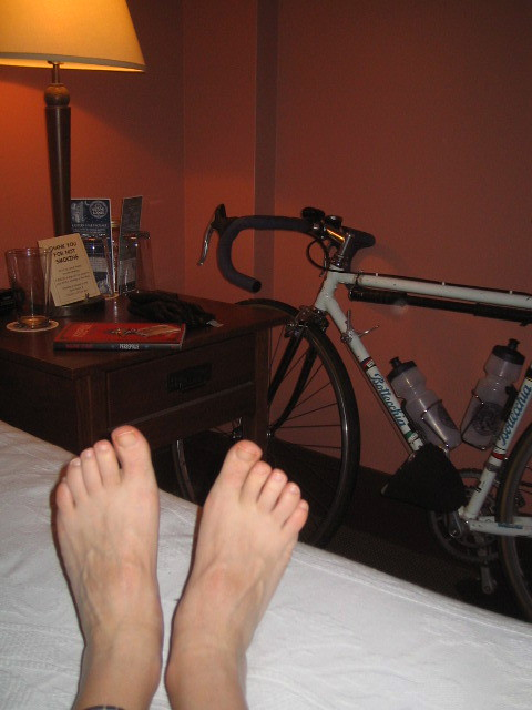 Hotel stay for the Bottecchia