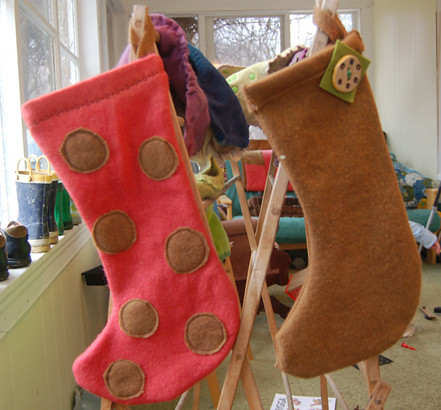 The Wool Blankets: stockings | by SouleMama