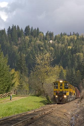 railroad children trains weyerhaeuser ostrander