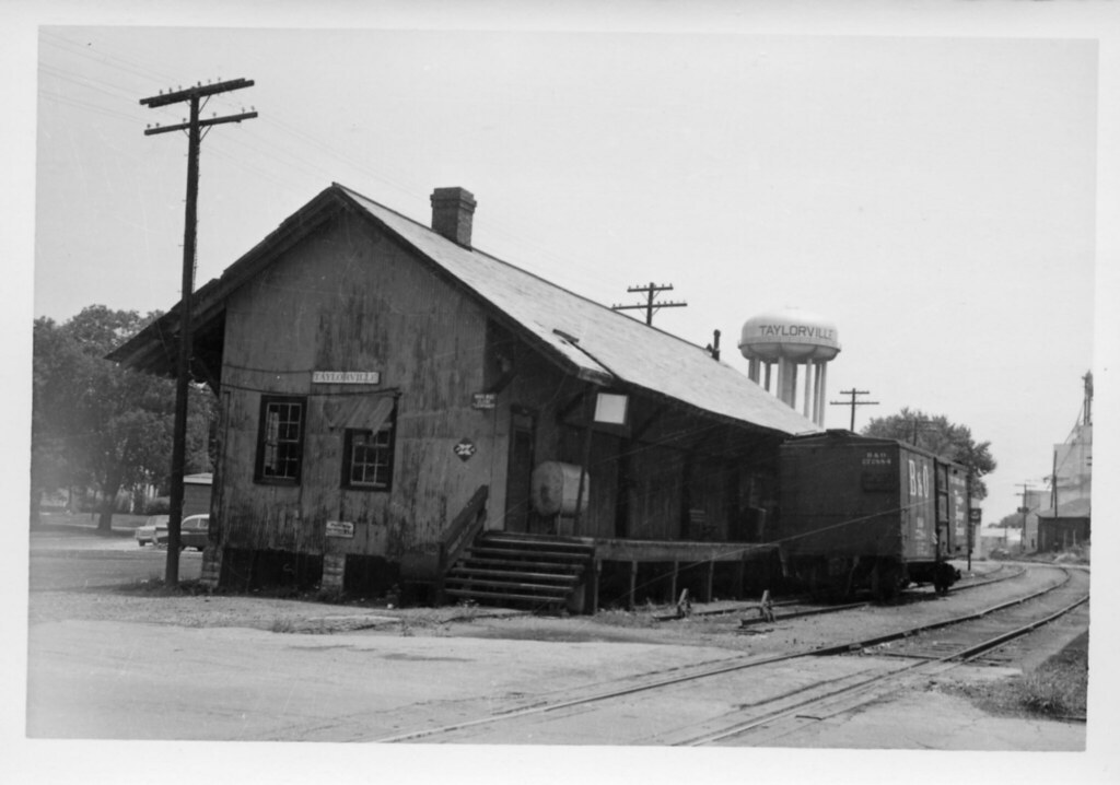 baltimore & ohio rr taylorville il july 1 1966 001