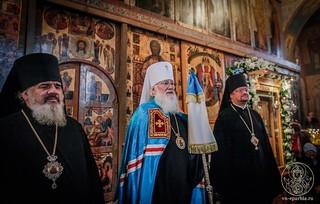 Литургия в Софийском соборе 780