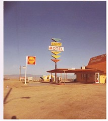 Ranchero Motel Shell Gas Station 1973 Route 66 | by giganticusproductions