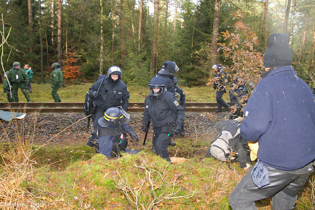 Beamter CRS Einsatz Wendland 07.11.2010-0761