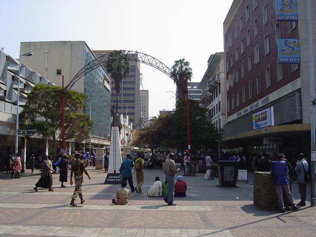 First Street, Harare, Zimbabwe | Gary Bembridge | Flickr