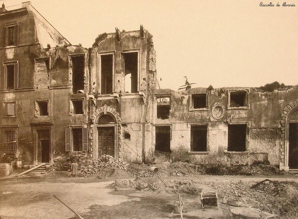 1925 Ca 2010 Palazzo Caffarelli In Demolizione Foto F Lli