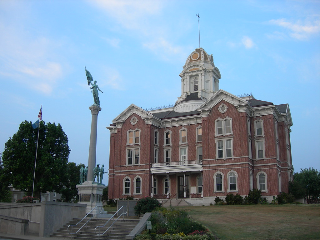 Posey County Court House | Mount Vernon, Indiana | Flickr
