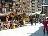 You can ski everywhere through - even the high street