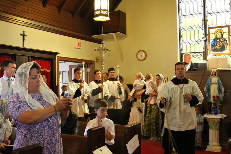 Solemn Pontifical Mass, June 21, 2010