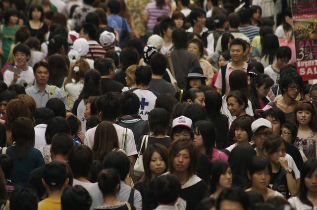 More people - Tokyo, Japan, 2007.