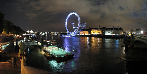 London at Night, Panorama 2 | by Ian Muttoo