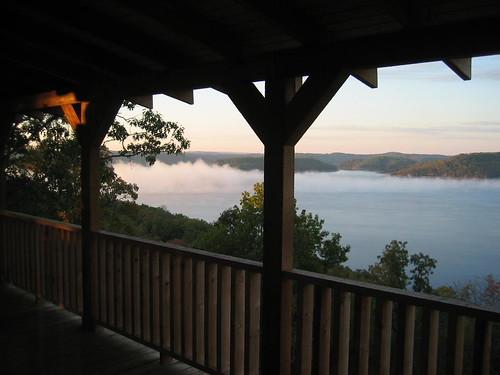 lake water sunrise cabin ar 2006 arkansas eurekasprings sugarridgeresort