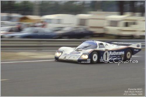 24 Heures du Mans 1986 Porsche 962C winner