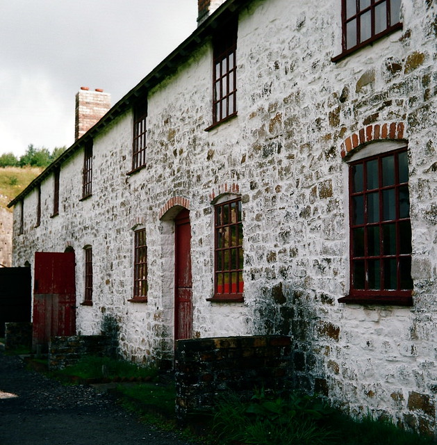 Old Welsh Terraced Houses, Blaenavon  Now featured in BBC