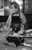 Vintage Camera & Flash by Daniel Greene