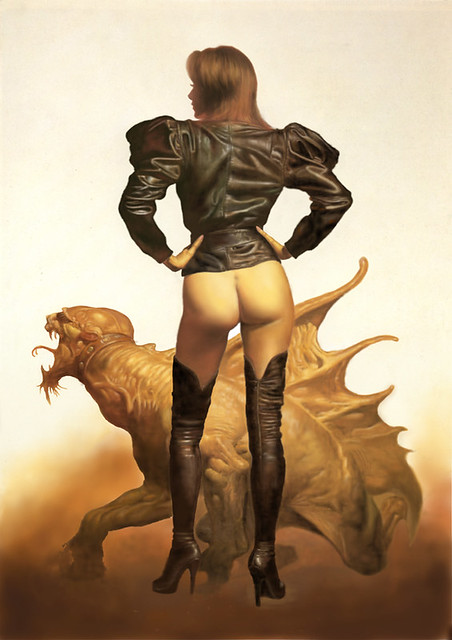 Leather Jacket (Boris Vallejo Imitacion)