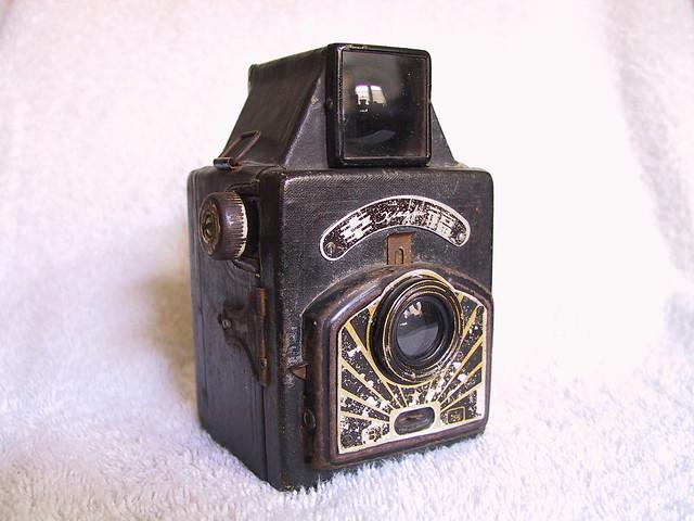 Xingfu box camera, made by China, 1957