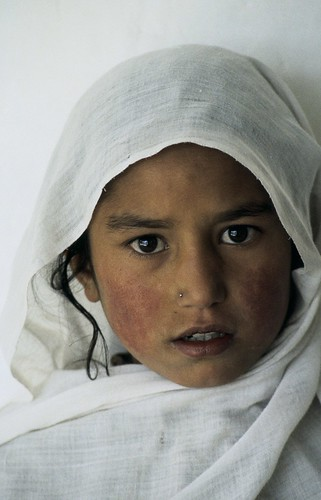 Portrait of young girl. Pakistan   by World Bank Photo Collection