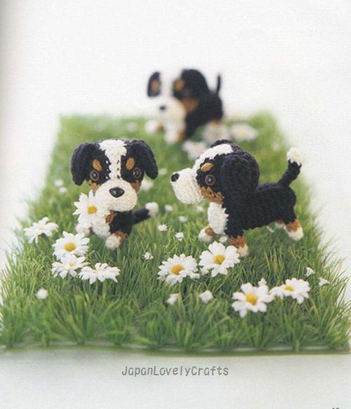 Amigurumi dog cupcake pattern - Amigurumi Today | 583x500