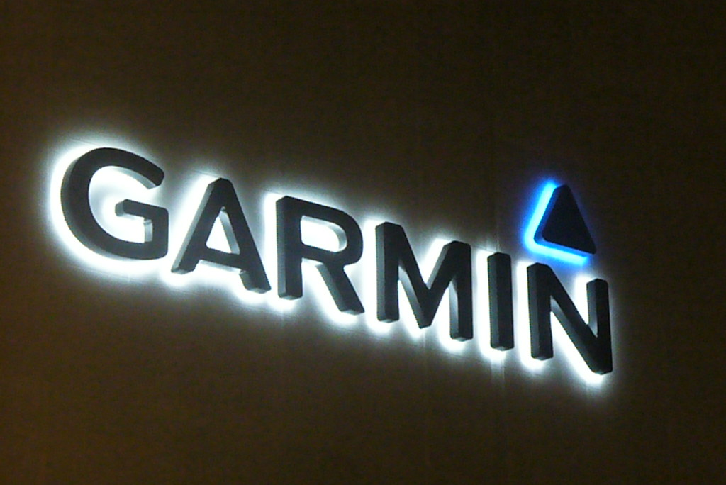 Garmin logo | Ian Usher | Flickr