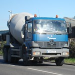 GN51 EPC Hanson Mercedes Mixer Truck, Brielle Way, Sheerness