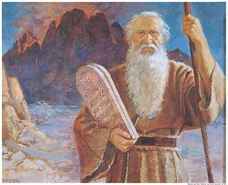 Ten Commandments Mormon Moses | by Mormon Images