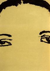 croxcard 13 karien vandekerkhove (1997) LIQUID 42<br /> inkt op papier 42,2x29,7cm
