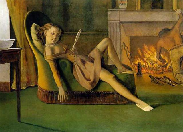Les Beaux Jours, 1944–46. Balthus