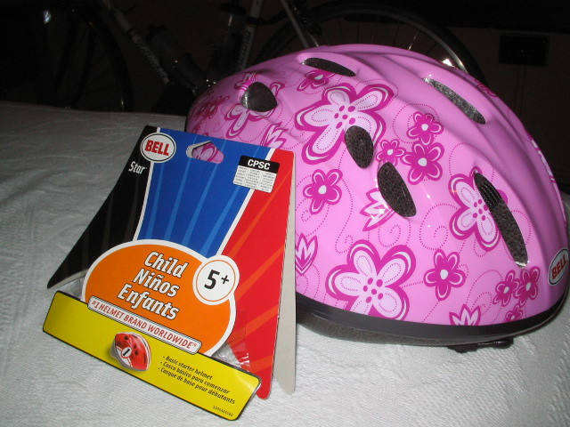 ANSI approved ? Fred Meyers helmet (for ages 8+)