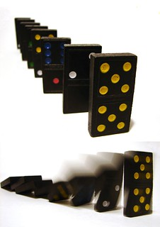 Domino effect | by aussiegall