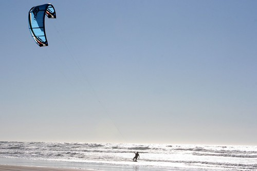Wind surfing in Oceano 2