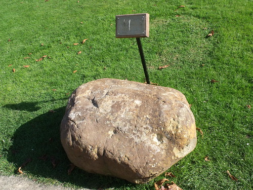 Bletchley Park House - Mansion - Churchill's stone | by ell brown