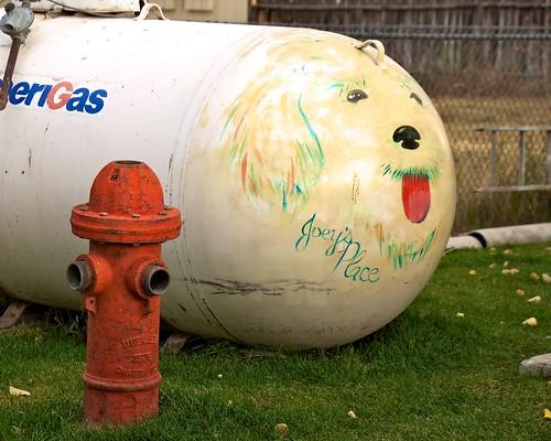ca usa firehydrant bridgeport propanetank joeysplace redwoodmotel