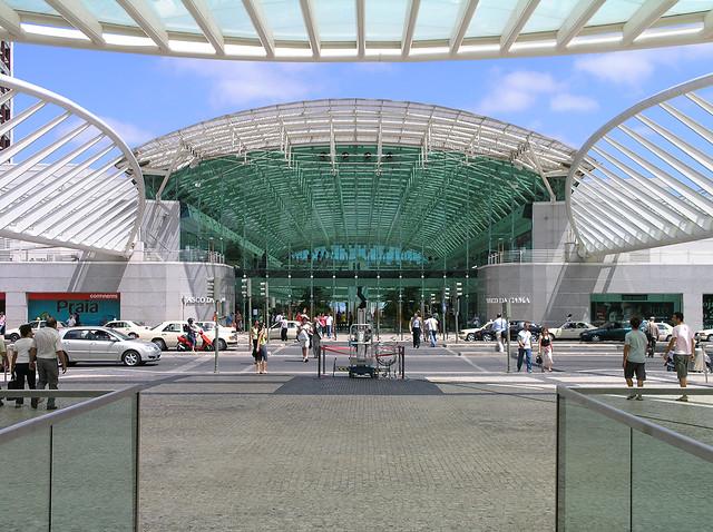 Lisbon - Vasco da gama mall outside