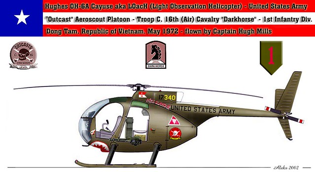 Hughes OH-6A Cayuse | Troop C, 16th (Air) Cavalry
