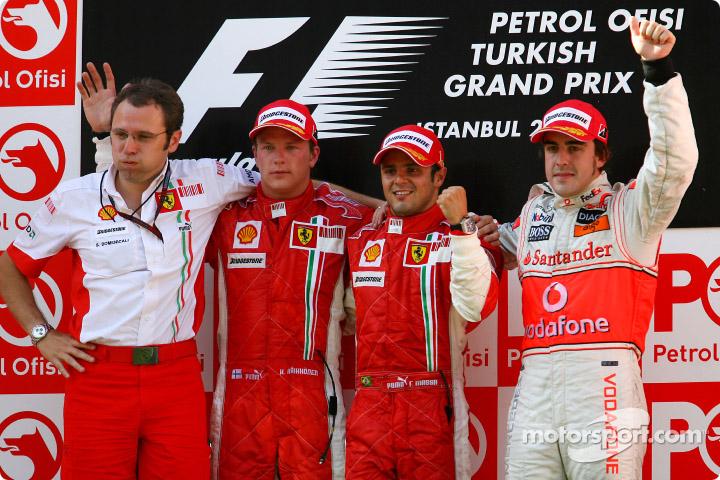 Formula 1 Grand Prix, Turkey, Sunday Podium