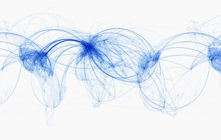 World Airline Routes | by josullivan.59