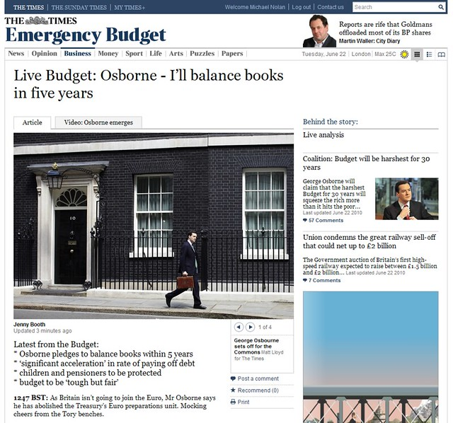 The Times Live Blog