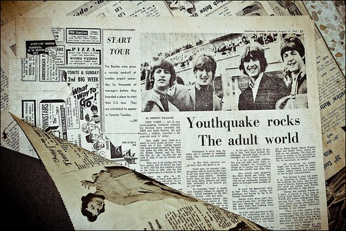 """Youth Quake Rocks the Adult World"" 
