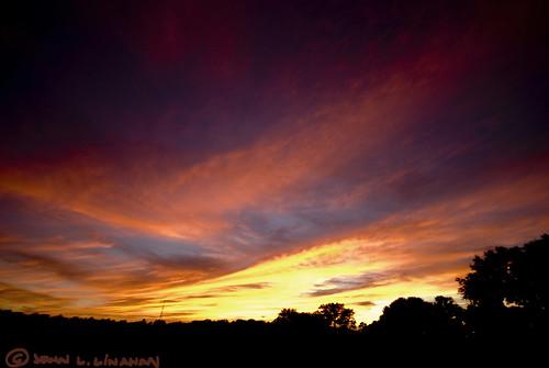 pink sunset sky orange silhouette yellow clouds scott landscape evening nikon louisiana lafayette purple wideangle roadside sigma1020mm photomatix 1435 d80 exposurefusion