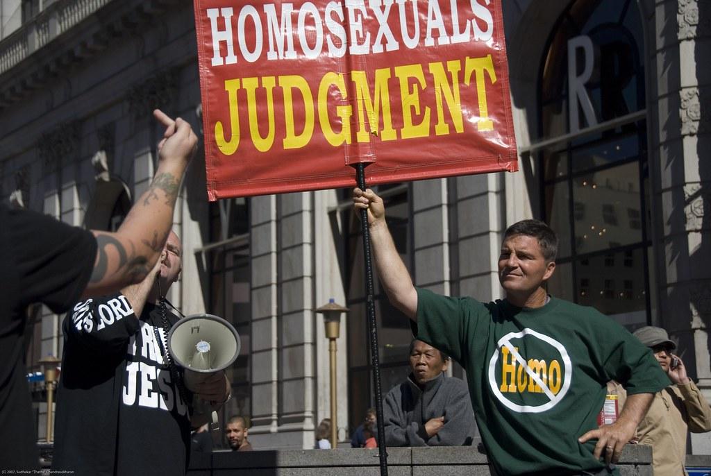 fundamentalists gays Christian hate