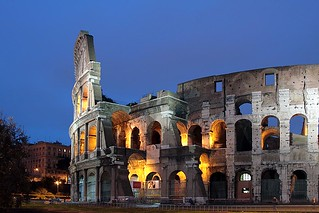 Roman Colosseum The Colosseum Which Stands Near The