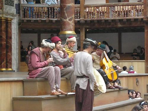 Minstrels at the Globe